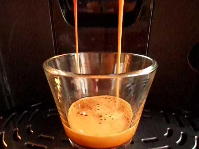Espresso extrahovaní