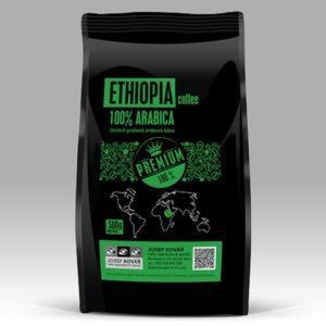 čerstvě pražená káva Ethiopia 100% arabica
