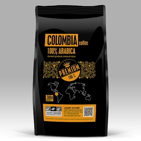 COLUMBIA 100% arabica