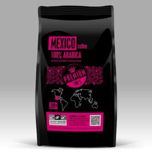 Mexico 100% arabica Čerstvě upražená zrnková káva