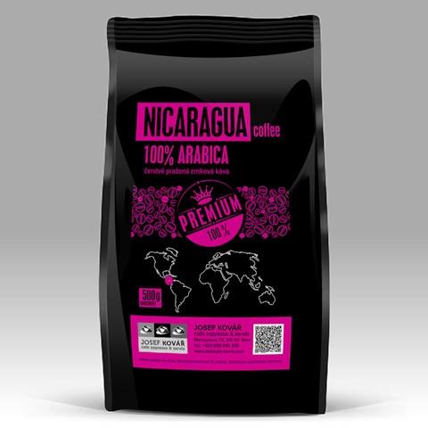 NICARAGUA SHG 100% Arabica Káva s původem