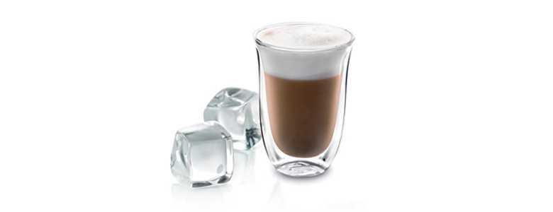 Sklenice káva cappuccino-Estivo