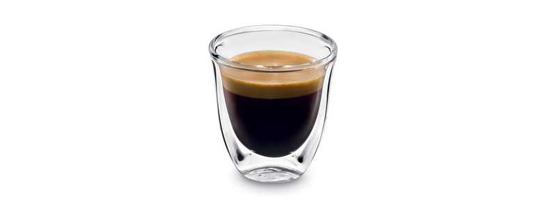 Sklenice káva Corretto