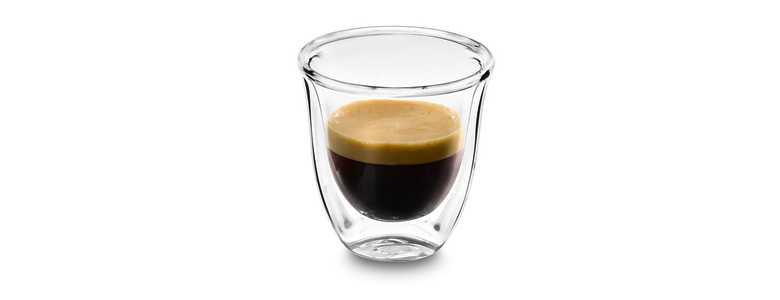 Sklenice káva Ristretto