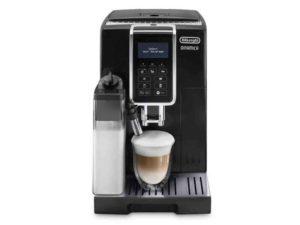 Automatický kávovar DeLonghi ECAM 350.55.B DINAMICA provedení v černé barvě se systémem LATTECREMA pro přípravu cappuccina