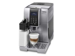 Automatický kávovar DeLonghi ECAM 350.75.S DINAMICA provedení ve stříbrné barvě připraví dokonalé espresso a se systémem LATTECREMA perfektní cappuccino.