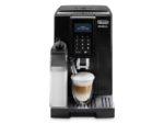 Automatický kávovar DeLonghi ECAM 353.75.B DINAMICA provedení v černé barvě se systémem LATTECREMA pro přípravu cappuccina