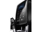 Pohled na skleněný ovládací panel u Automatického kávovaru DeLonghi ECAM 353.75.B DINAMICA