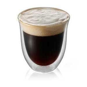 Sklenice nápoje espresso Lungo